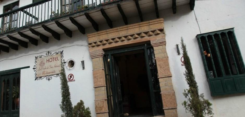 Puerta. Fuente: hotellaposadadesanantonio.com